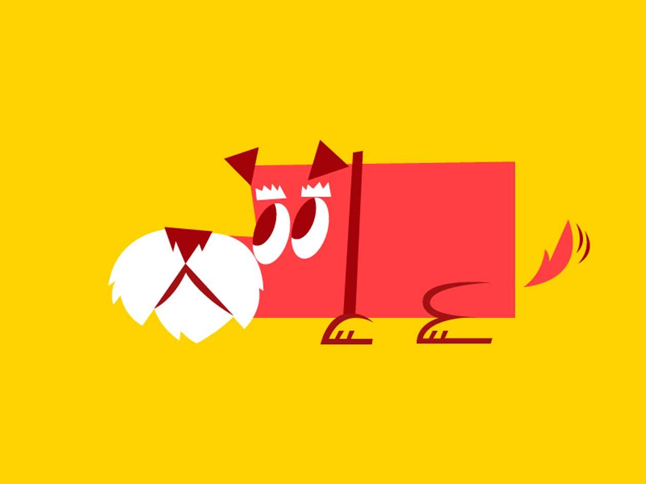 córneo perra estilo perrito en Palma