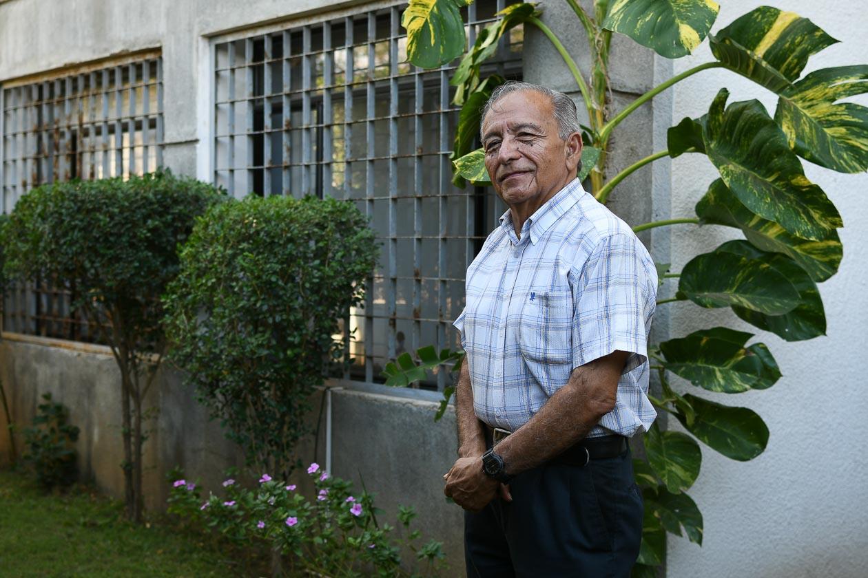 Jorge Ventura, organizador del concierto y músico del recuerdo.   Carlos Herrera   Niú