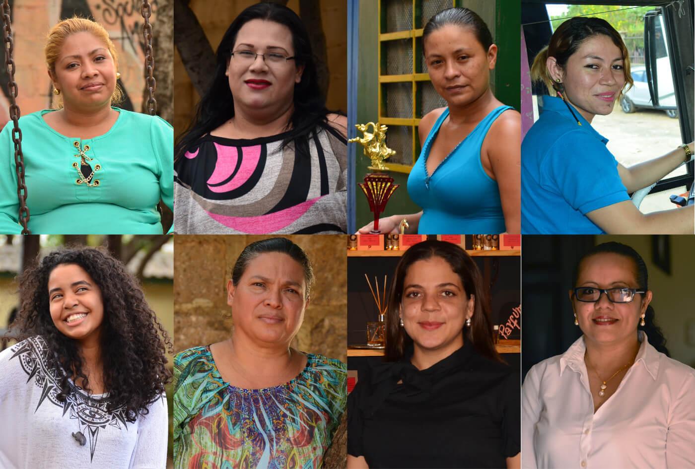 mujer en Nicaragua