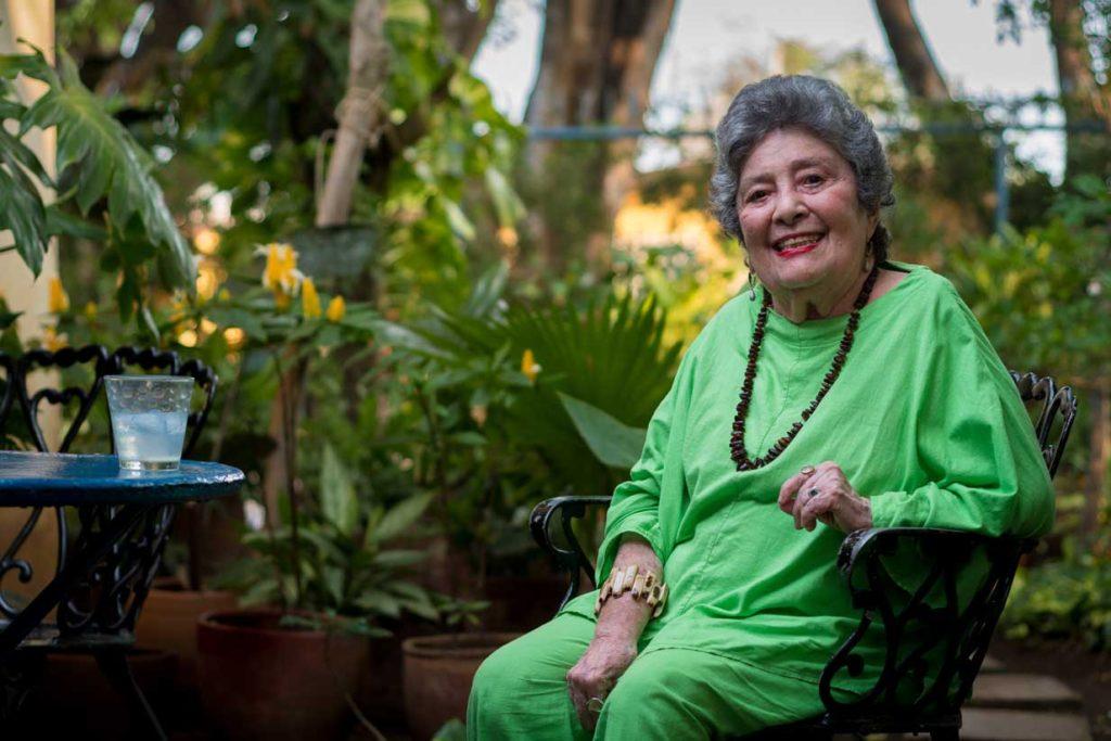 Claribel Alegría ganadora del premio Reina Sofía.
