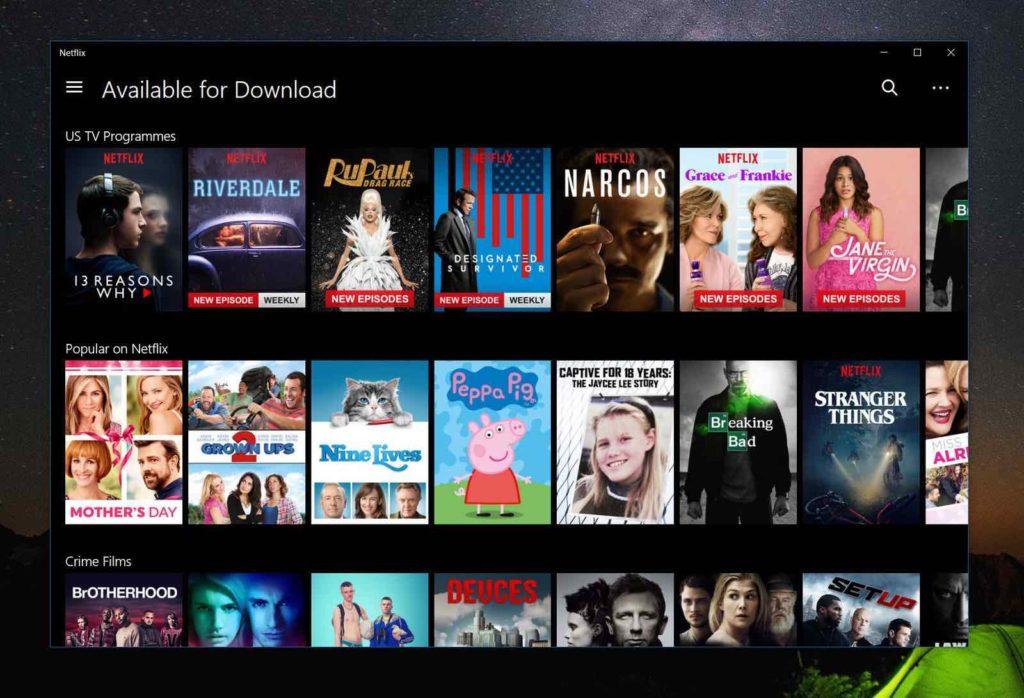 algoritmo Netflix