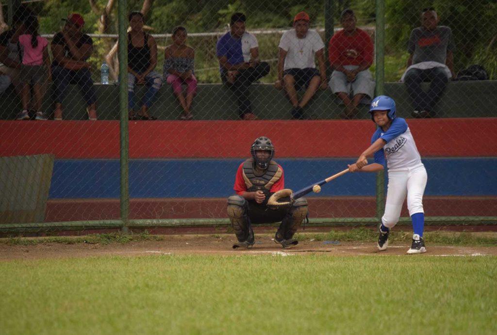 béisbol femenino en Nicaragua