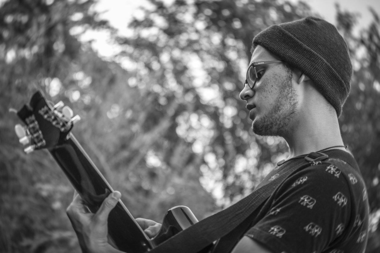En los últimos meses ha producido tres temas musicales relacionados con la crisis que vive Nicaragua. Foto: Franco Gonzales