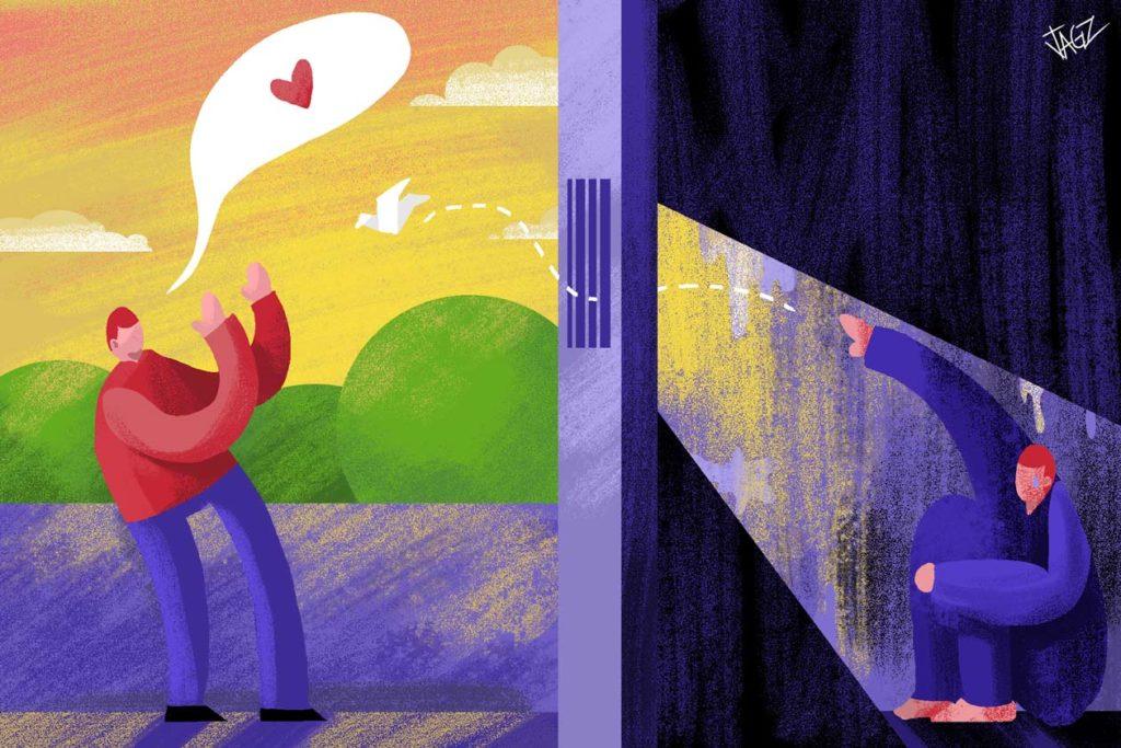 En los Sistemas Penitenciarios nacionales los presos políticos no tienen permiso de enviar o recibir cartas. Quienes han logrado enviarlas sufren represalias. Juan García | Niú