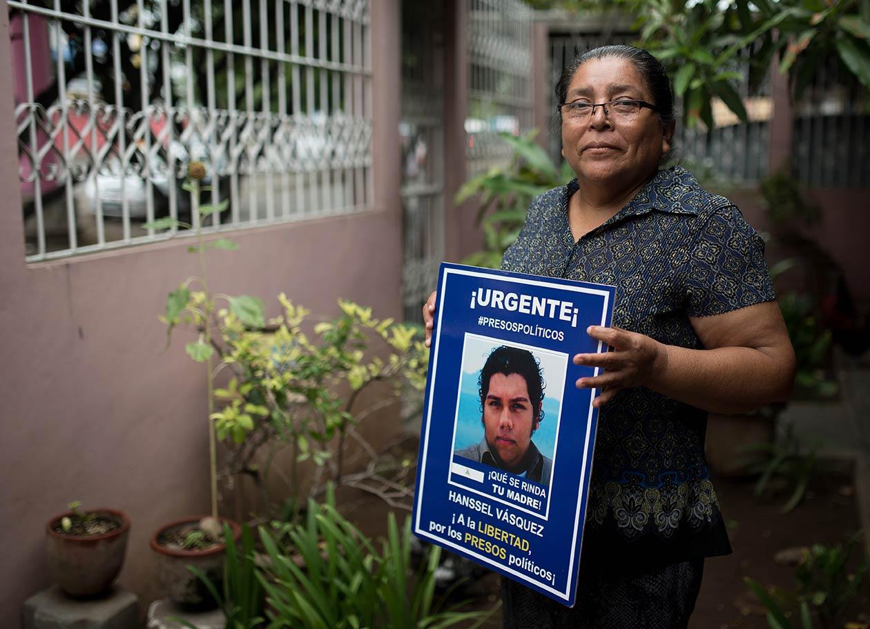 Hansel Vásquez fue capturado por paralimitares junto a Rodrigo Espinoza y Marlon Fonseca, quienes también son líderes el Movimiento 19 de Abril, de la Upoli. Carlos Herrera | Niú