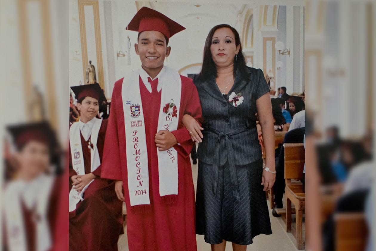 Dilon Zeledón, tiene 20 años y era estudiante de cuarto año de contaduría pública. Cortesía / Niú