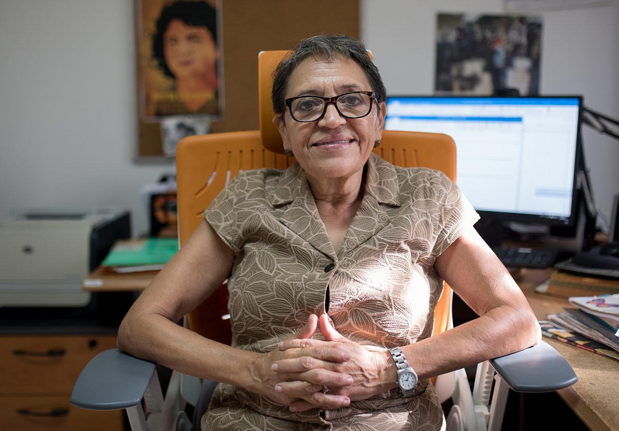 Marta María Blandón, directora ejecutiva de Ipas Centroamérica, asegura que el involucramiento de los hombres era clave ante una epidemia de la naturaleza del zika. Carlos Herrera | Niú