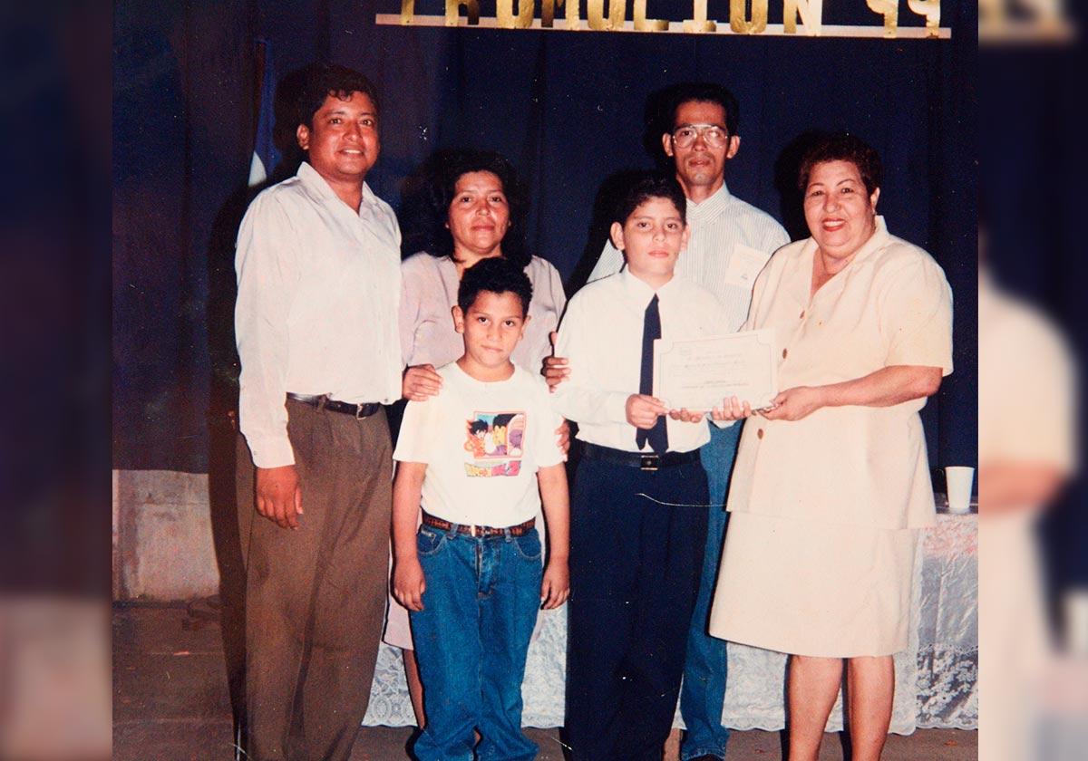 El sueño de Hansell Vásquez era tener una empresa para ayudar a su familia. Reproducción Carlos Herrera | Niú