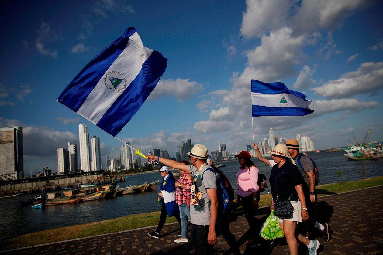 """Jóvenes piden al Papa que le """"cuente al mundo"""" lo que ocurre en Nicaragua"""