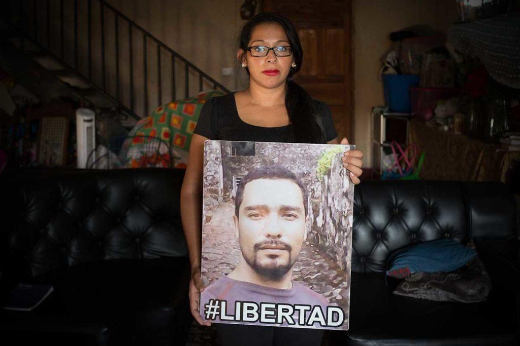 Makiel Hernández se enteró que estaba embarazada un día después que Roberto Cruz fue arrestado. Carlos Herrera | Niú