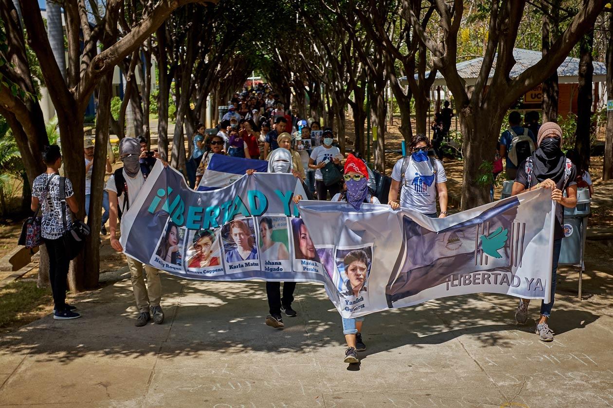 La protesta cívica en Nicaragua se vuelve exprés