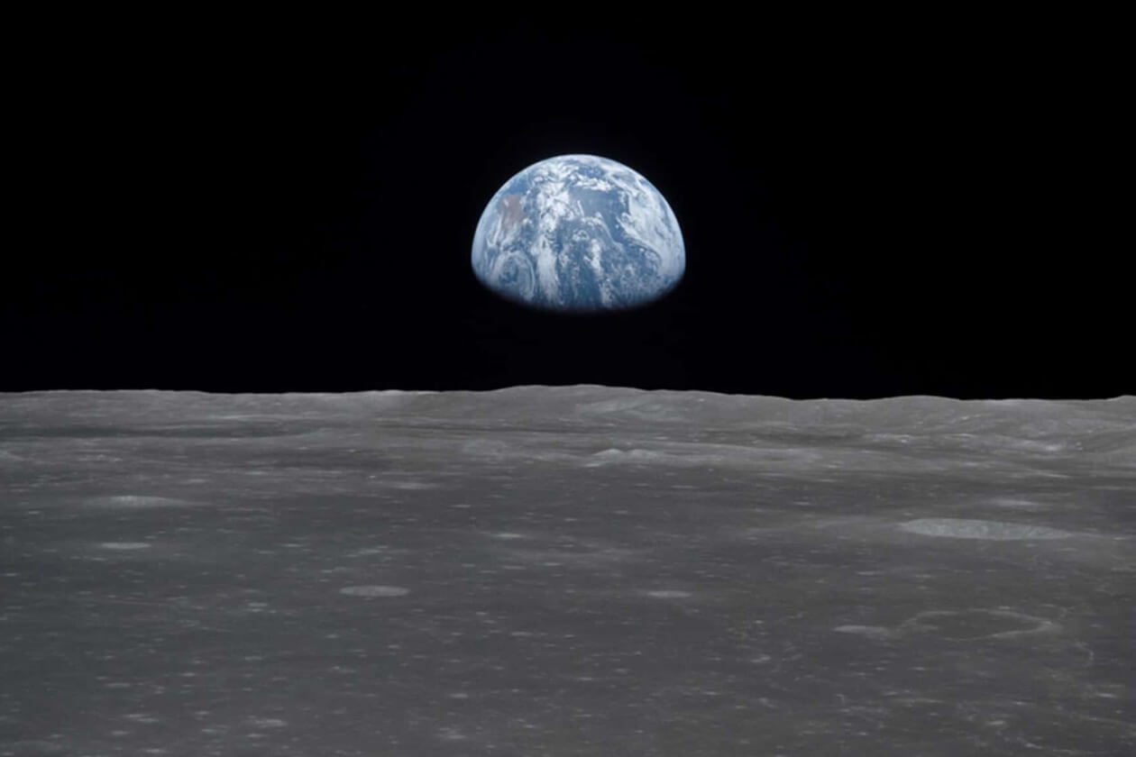 Vista de la Tierra desde la Luna. Cortesía Nasa | Niú
