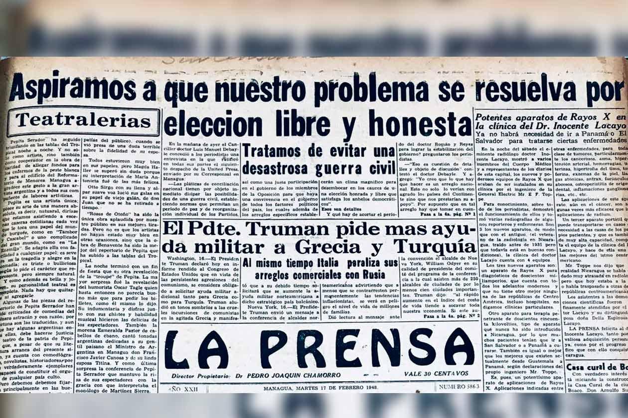 La memoria histórica de Nicaragua nos refleja que desde hace más de un siglo la lucha social siempre ha sido la democracia. Y el último ciclo de lucha social por alcanzar ese sueño empezó el 18 de abril de 2018.