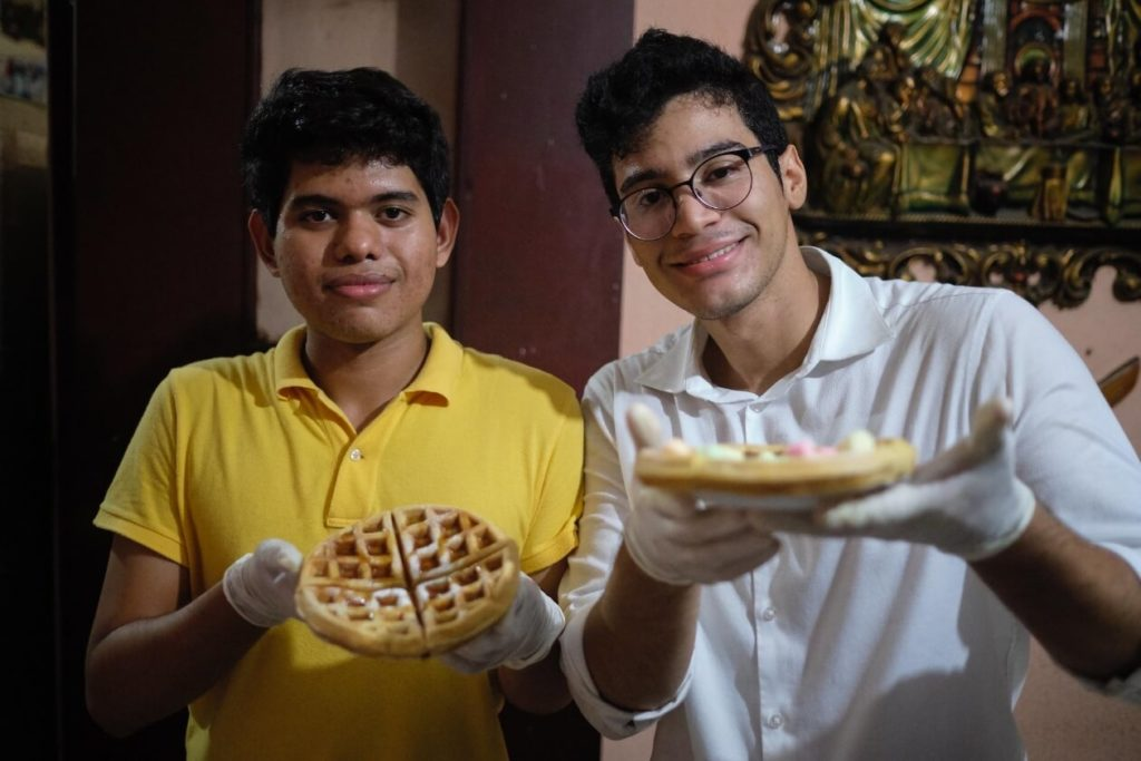 Waffle boys
