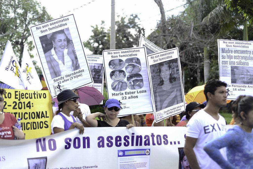 Femicidios Nicaragua