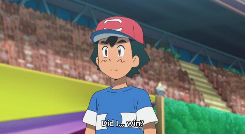 Ash Ketchum finalmente gana la Liga Pokémon y los fans se vuelven locos