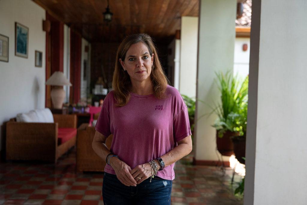 Tifani Roberts, de 54 años, es periodista nicaragüense. Claudia Tijerino | Niú