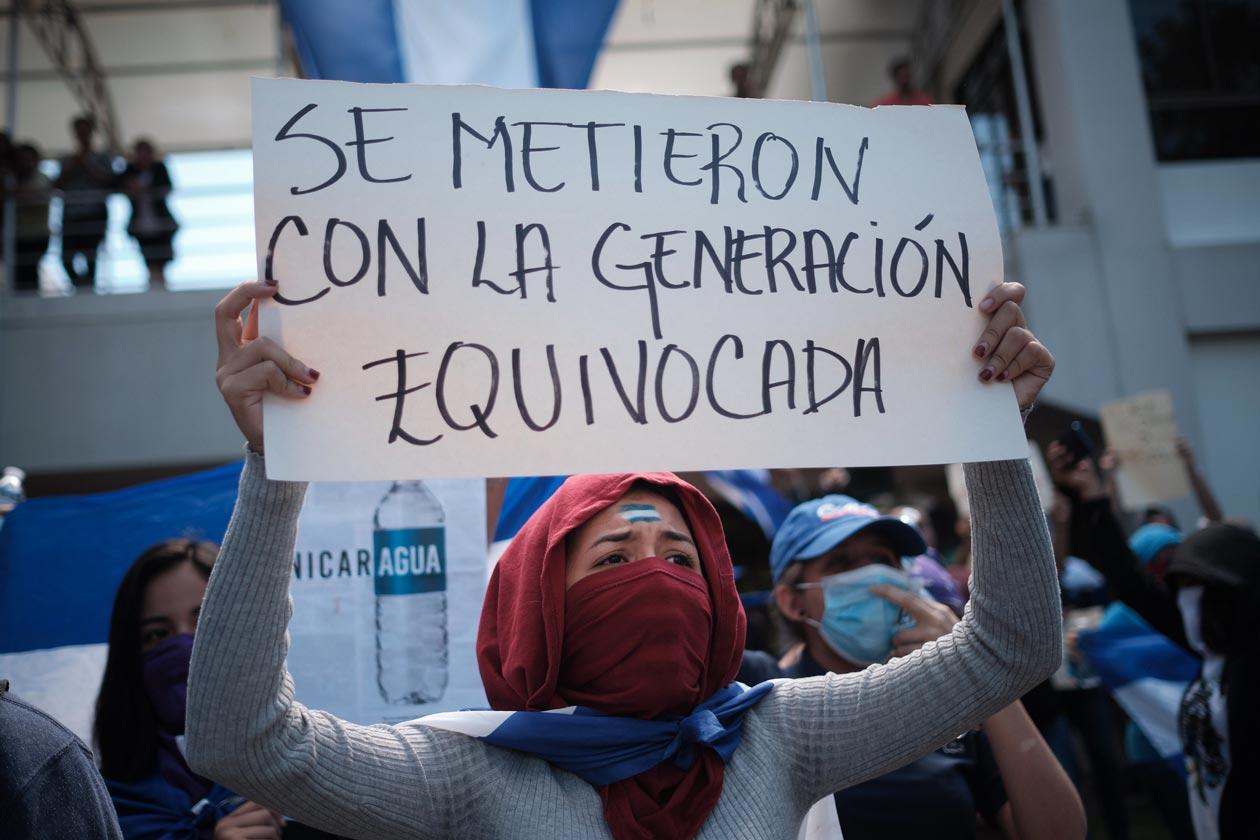 protestas estudiantiles nicaragua