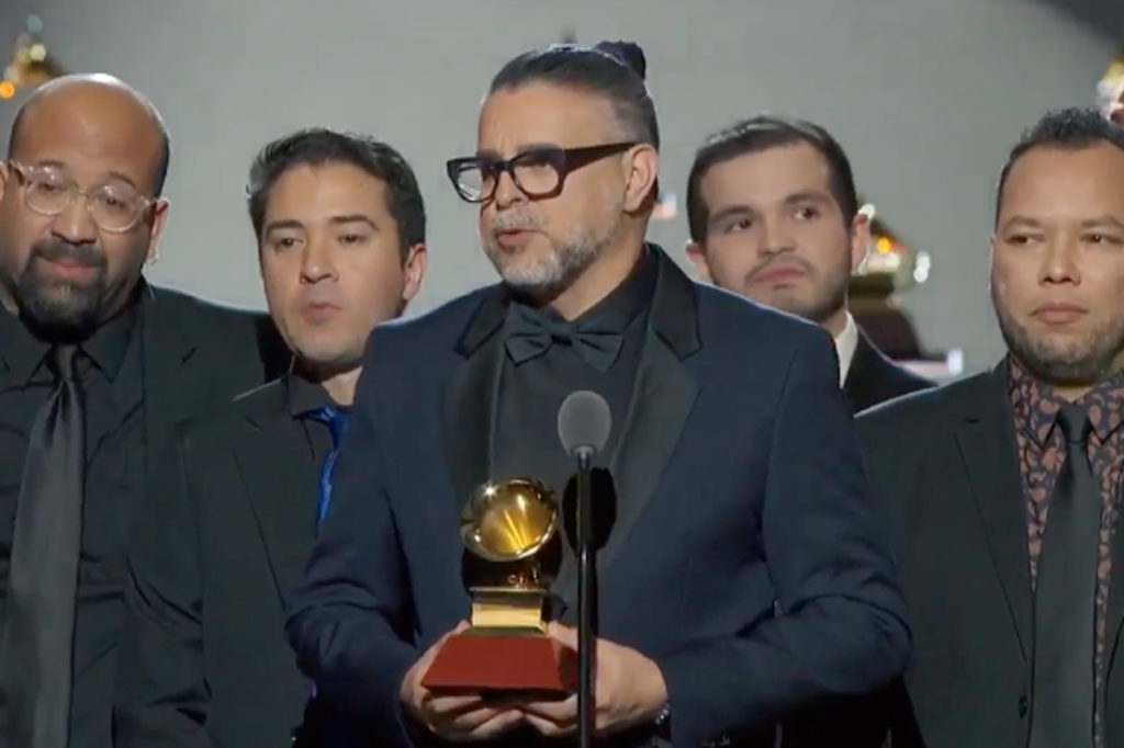 Luis Enrique Latin Grammy