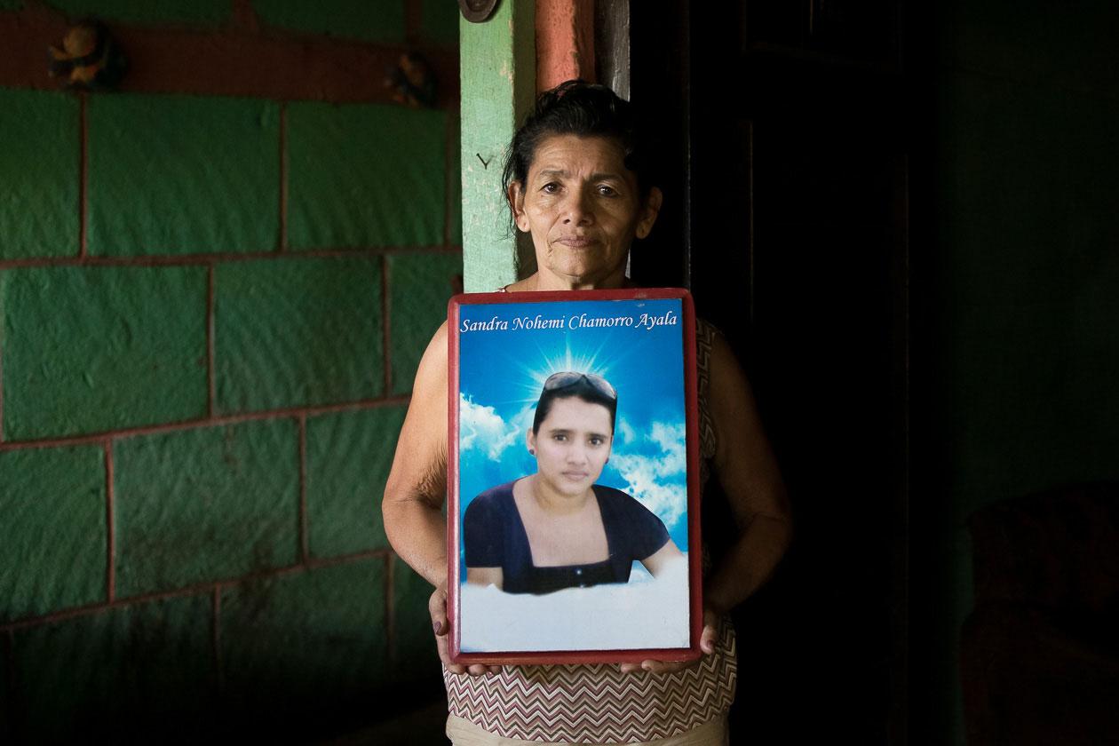 femicidio Sandra Chamorro