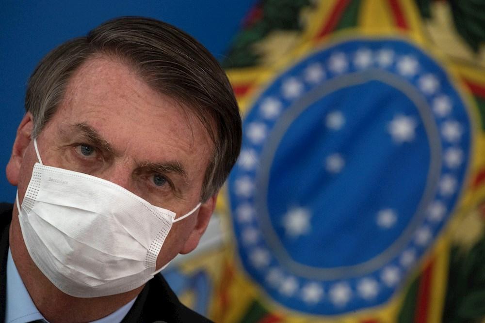 Jair Bolsonaro, presidente de Brasil
