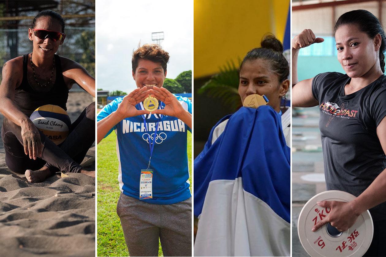 mujeres atletas de Nicaragua