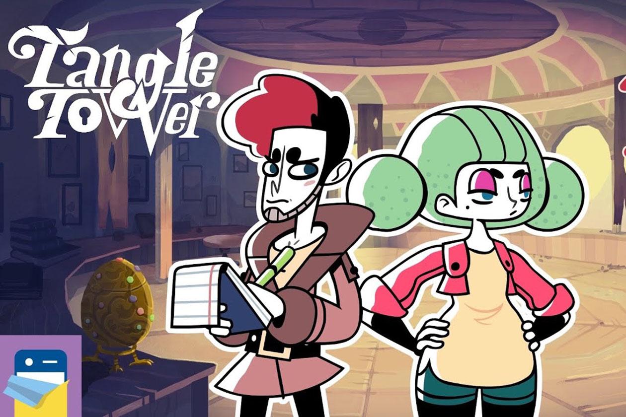 Tangle tower videojuego