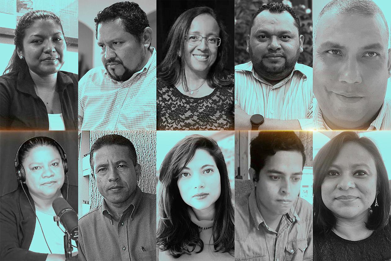 periodistas nicaragüenses