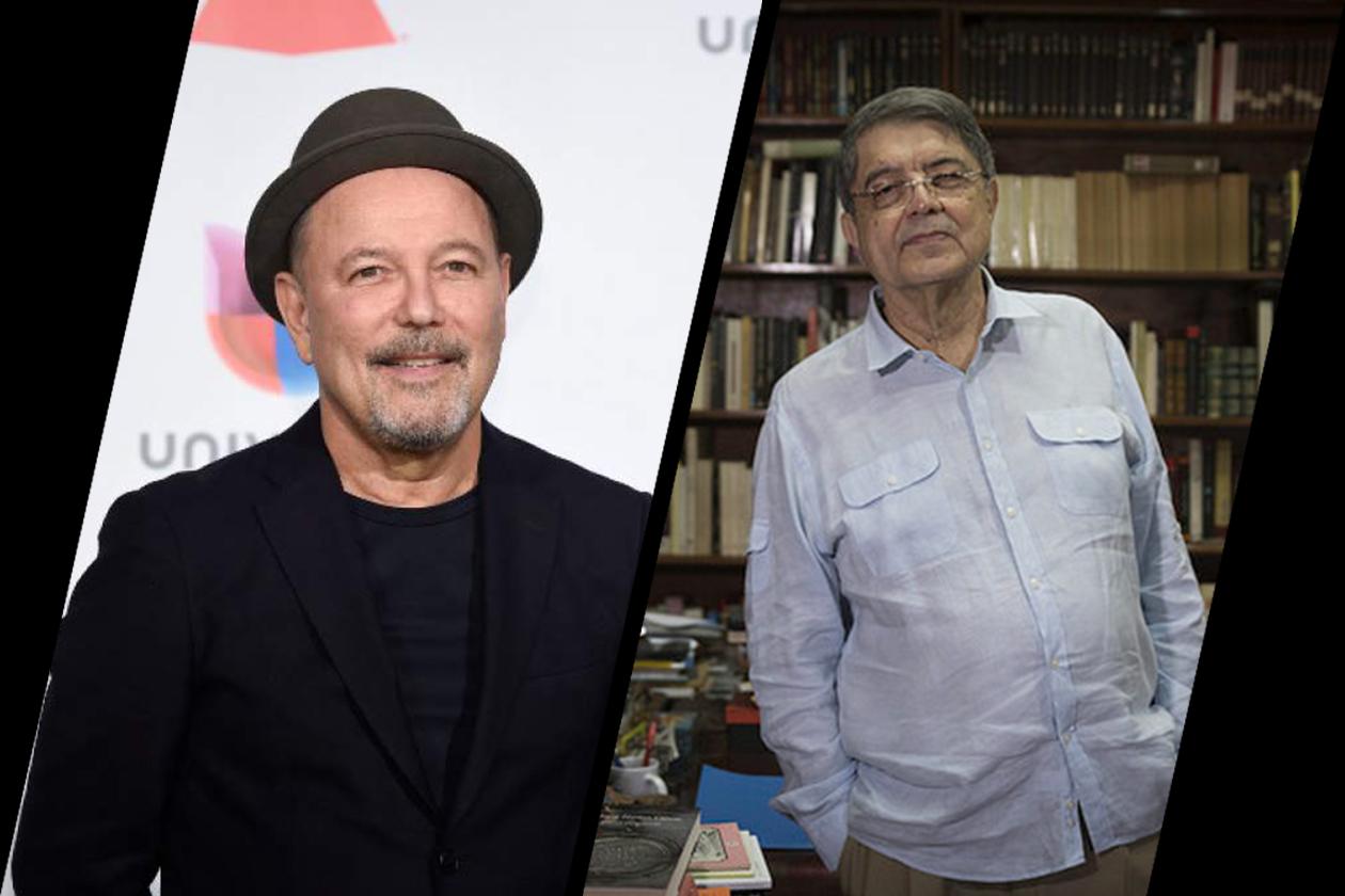 Rubén Blades y Sergio Ramírez