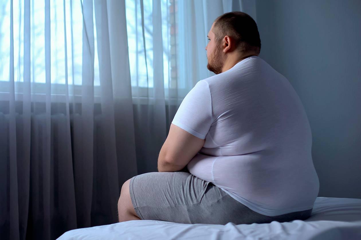 Joven y con obesidad