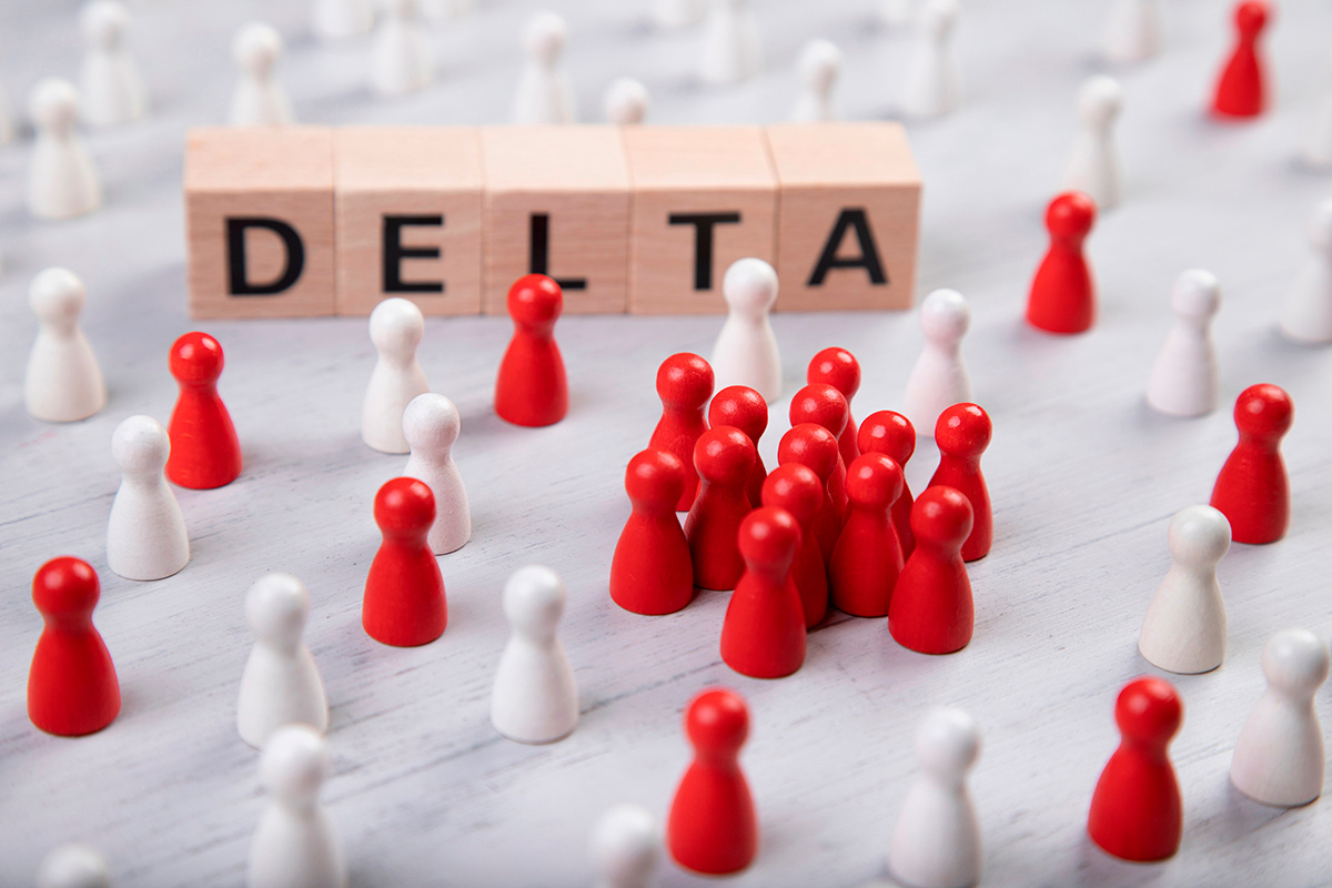 Variante delta contagios